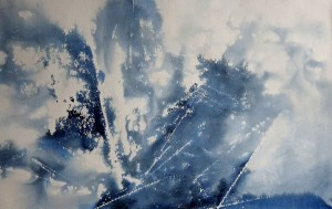 aquarelle abstrait